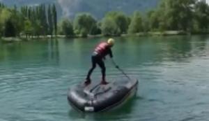 Boot umdrehen ohne nass zu werden