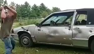 Auto zerkloppen