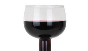 BigMouth Weinflaschen-Glas
