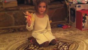 Die neue Puppe vorf�hren
