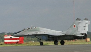 Mig-29 Stratosphärenflug