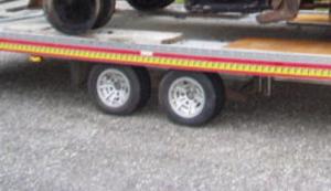 Unimog 411 mit Brandschaden