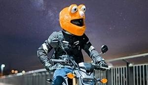 Monster-Helmüberzug