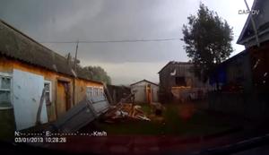 Tornado fegt vorbei