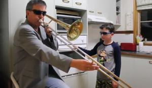 Was machen Vater und Sohn