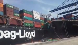Treffen sich zwei Containerschiffe