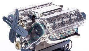 V8 Motor selber bauen