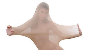 Transparente Ganzkörper Strumpfhose