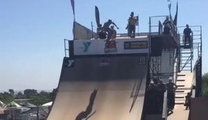Skateboard-Hochsprung