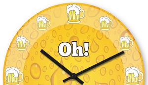 Oh! Schon Bier Uhr!