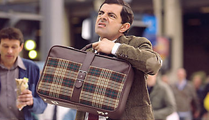 Original Mr. Bean Koffer