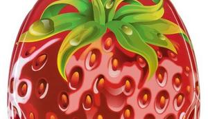 Erdbeer-WC Sitz