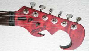 Totenkopf E-Gitarre