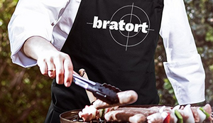 Bratort Grill-Schürze