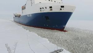 Wenn man auf einem Containerschiff arbeitet
