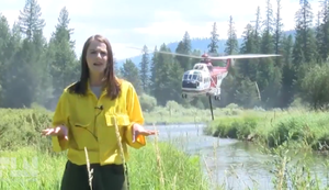 Helikopter crasht Reportage