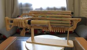 Gummiband-Maschinengewehr