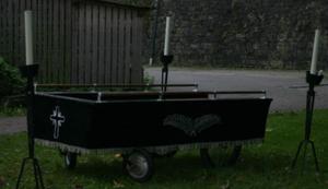 Schicker Bestattungswagen