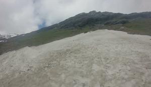 Mit dem Kajak auf dem Berg