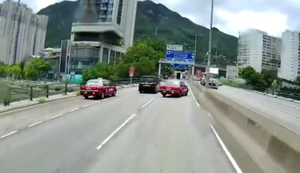 Strasse betonieren in China
