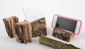 Holz Ständer für Handy