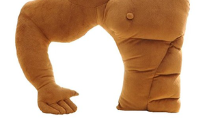 Muskel Kuschelkissen