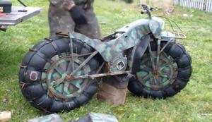 Das Motorrad f�r jedes Gel�nde