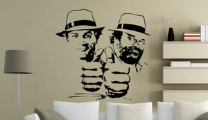 Bud Spencer und Terence Hill Wandtattoo