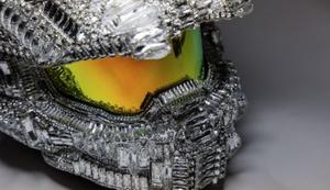 Halo Master Chief Swarovski Helm