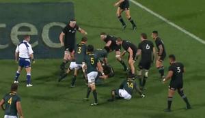 Konter beim Rugby