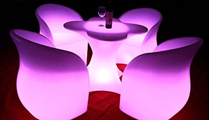 LED Garten Möbel