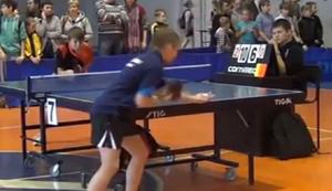 Tischtennis auf russisch