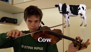 Tierstimmen auf einer Geige nachstellen