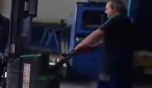 Werkstattboden reinigien