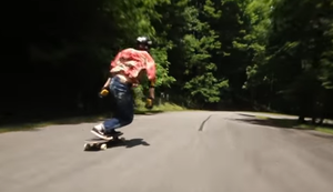Longboard Downhill Fail Compilation