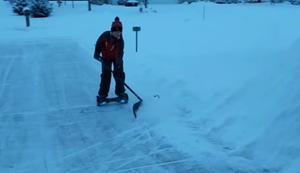 Schnee schieben 2.0
