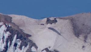 Spektakuläre Rettung auf dem Berg