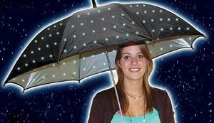 LED Sternen Regenschirm