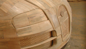 Hölzerner Bugatti Veyron